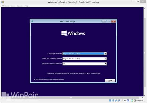install windows 10 preview in virtualbox cara install windows 10 preview di virtualbox beserta