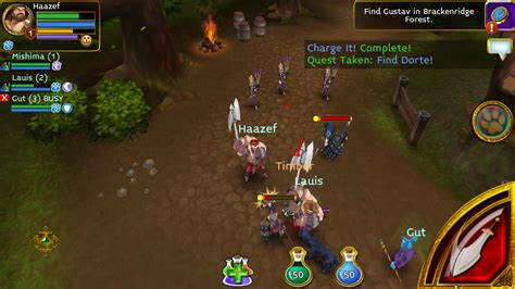 mmorpg android arcane legends for android free arcane legends a decent quest
