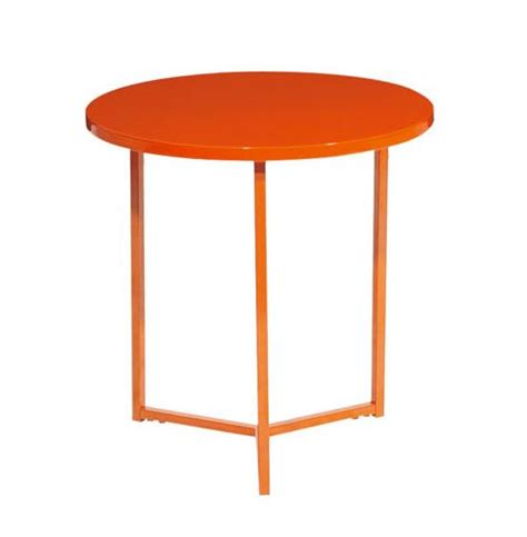 Orange Side Table Arke Side Table Orange Wedding Gift Registry Easy Weddings Easy Weddings Gift Registry