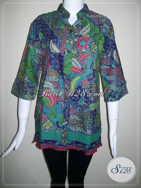 Model Baju Kerja Dan Harga Baju Batik Untuk Busana Kerja Blus Batik Model Modern Dan