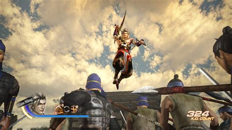 handful of fighters from dynasty warriors 7 screen