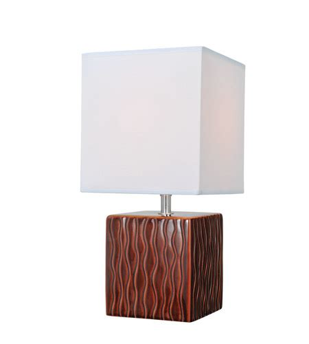 hubbardton forge table ls lite source kube 1 light table l in coffee ls 22379coffee