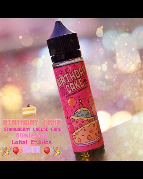 Birthday Cake 60ml By Indonesia Premium Liquid distributor birthday cake liquid jual birthday cake