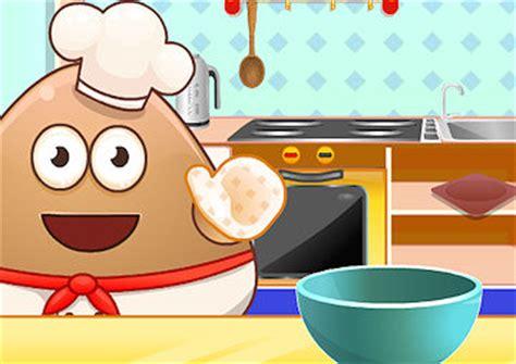 giochi di pou cucina gioco pou in cucina