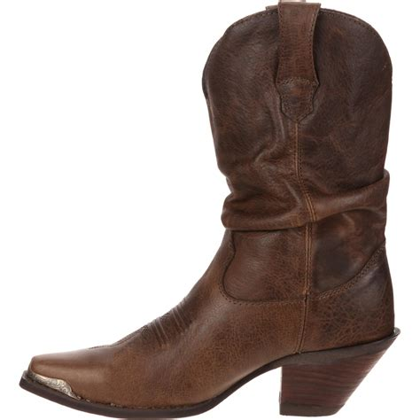 crush by durango s brown comfort slouch boots rd3494