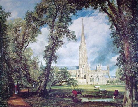 by john constable salisbury cathedral constable salisbury cathedral kerrisdale gallery