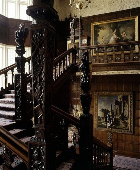 dark home decor dark gothic staircase designs