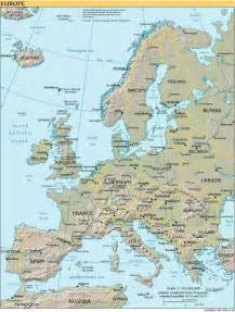 Physical Map Of Western Europe by Interopp Org Physical Map Of Western Europe Small 2000