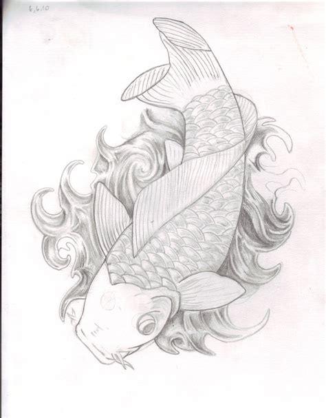 tattoo koi sketch koi fish tattoo sketch by atarinet on deviantart