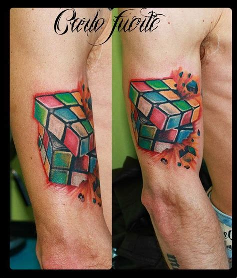 tattoo 3d cube 39 best prison break tattoo images on pinterest
