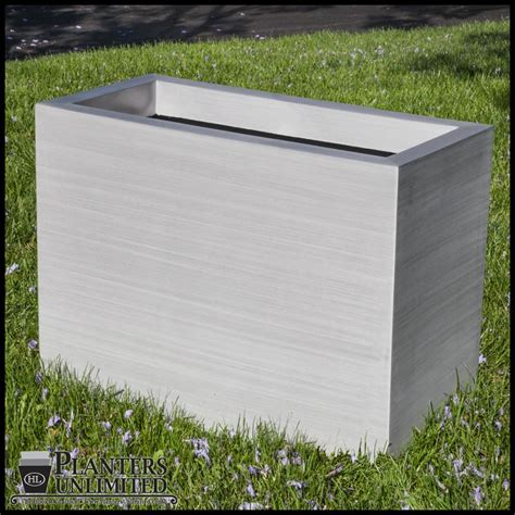 Lightweight Planter Boxes by Large Aluminum Pots Planter Boxes Planters