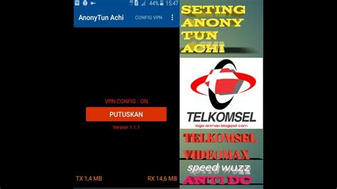 setting anonytun telkomsel youthmax setting anonytun telkomsel videomax speed wuzz youtube