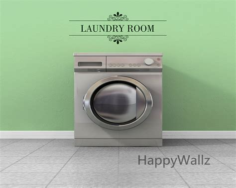 laundry room sticker wall laundry room quote wall sticker diy family home wall