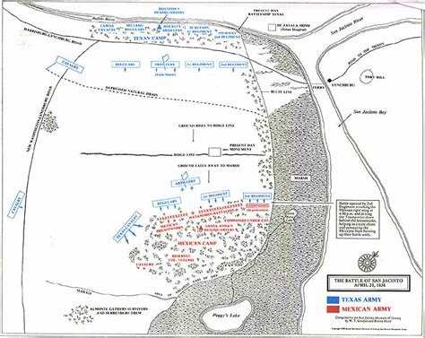 san jacinto texas map map of texas during the battle of san jacinto pictures to pin on pinsdaddy