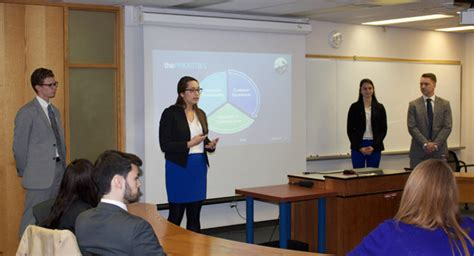 Sprott Mba Review by Sprott Students Present Live Business On The Opinicon