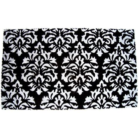 Damask Area Rug Black And White by Allen Roth Black White Damask Area Rug