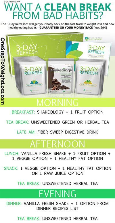Shakeology Detox Review by 3 Day Refresh Reviews Results Up To 10 Lbs Lost