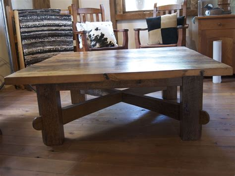 custom made coffee tables handmade square coffee table by homestead heritage