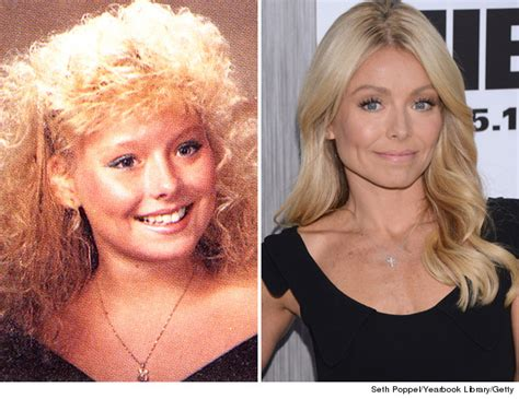 why does kelly ripa have so many hair styles holy hair see celebs rocking big locks before they were