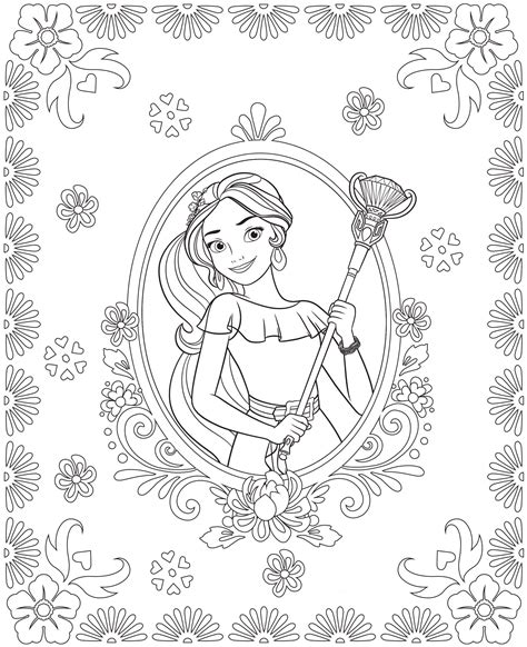 coloring pages princess elena kids n fun com 44 coloring pages of elena of avalor
