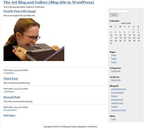 tutorial wordpress x theme my first wordpress theme part 2