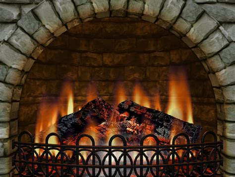 Real Fireplace Screensaver by Fireplace 3d Wallpaper Serial Lipetand