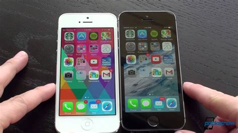 Iphone 5 5s by Iphone 5s Vs Iphone 5 Pocketnow