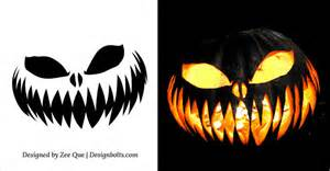 10 free scary pumpkin carving patterns 28 pumpkin carving templates 10 free scary
