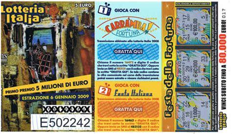 lotteria italia 2014 premi di consolazione lotteria italia estrazione 6 gennaio 2012 premi di