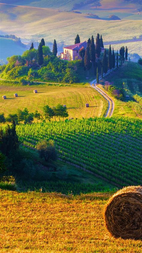 tuscany italy landscape iphone wallpaper iphone wallpapers