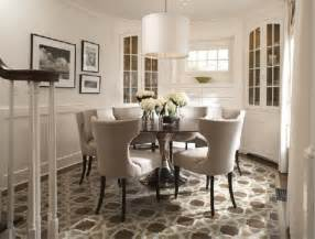 Dining room dining room ideas with nice modern chairs and round table