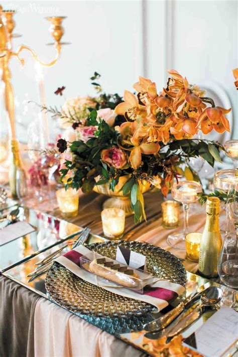 Modern Fall Wedding Decoration Ideas   ElegantWedding.ca