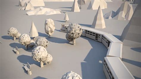 Make A 3d Paper City - paper city4 fubiz media
