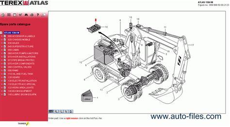 atlas honda spare parts terex atlas
