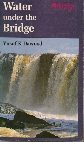 beneath the water books water the bridge by yusuf k dawood reviews