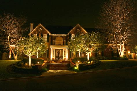 lights on landscape hassle free landscape lighting installation