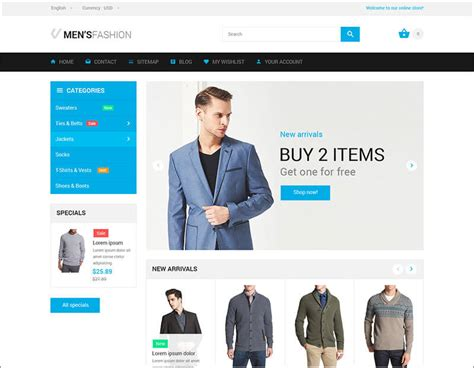 bootstrap themes prestashop 20 best fashion bootstrap templates free website themes