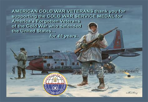 cold war veterans seek recognition for their service american cold war veterans inc home