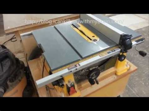 most accurate table saw dewalt dw744x 10 inch table saw one year later
