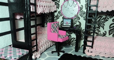 how to make a doll bunk bed lola s mini homes how to make a doll bunk bed with