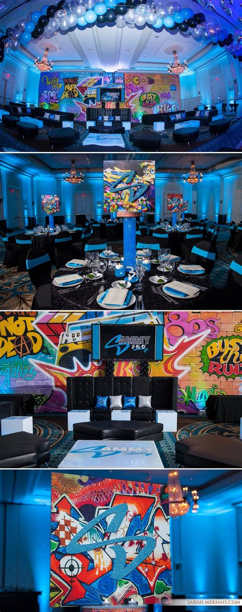 graffiti bar mitzvah ideas sarah merians boutique