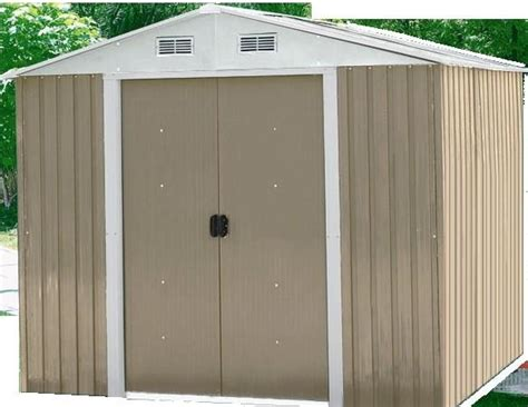Steel Framed Shed by Prefab Outdoor Metal Storage Shed Steel Garden Sheds 0