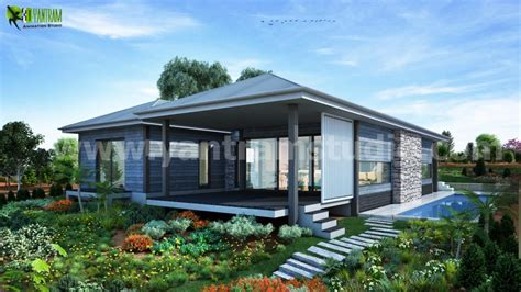 exterior home design studio dreamy modern house rendering ideas by yantram exterior