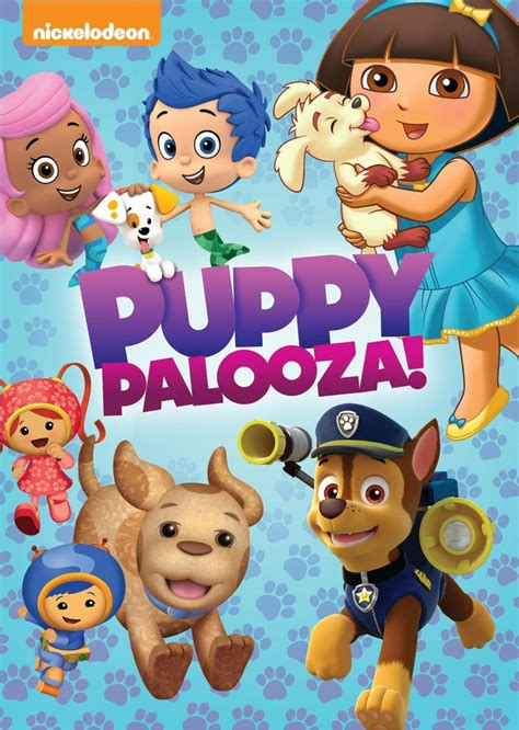 puppy pals dvd nickelodeon favorites puppy palooza available on dvd 8 25 15