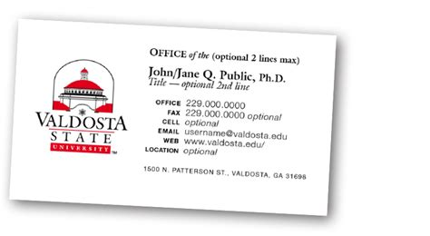 office 2000 business card template how to order business cards valdosta state