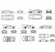 Ferrari 1 DWG Free CAD Blocks Download
