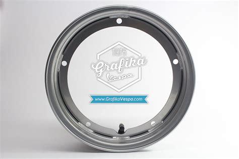Velg Vespa Ring 8 By Vespartt jual velg tubeless vespa ring 10 silver grafika vespa