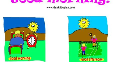 imagenes de niños diciendo good morning english academy 182 greetings and farawells