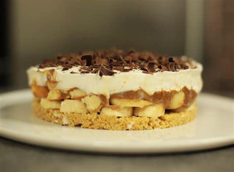banoffee kuchen recette facile de la banoffee pie ou tarte banane caramel