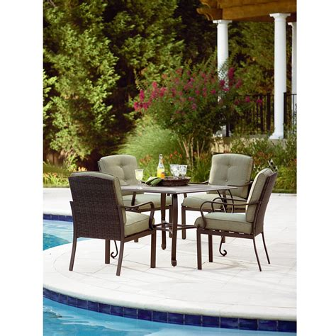 Patio Dining Sets Kmart Peyton 5 Patio Set Extend Your Living Space With